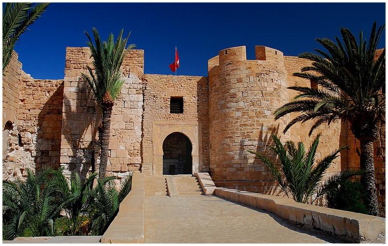 Le fort Bordj el Kabir Houmt Souk Djerba Tunisie