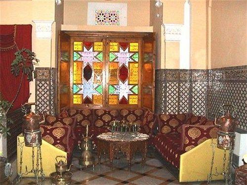 Café maure hotel Transatlantique Casablanca, Maroc