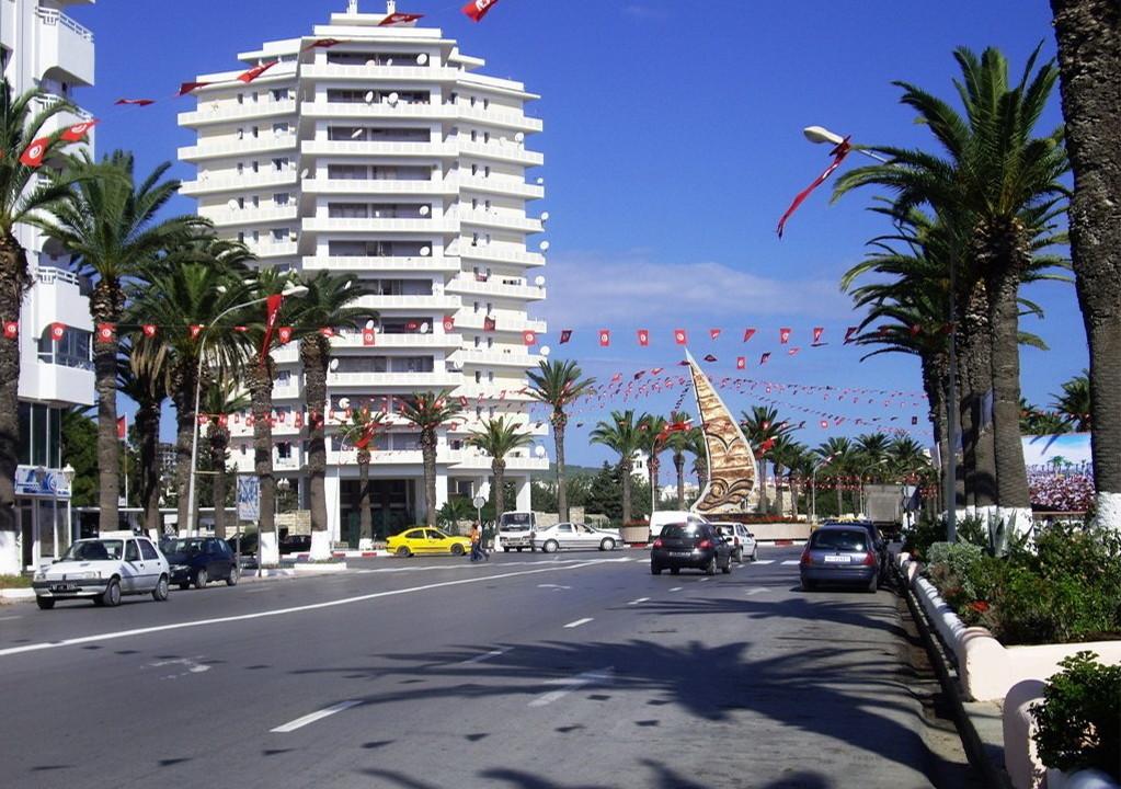 Centre ville Bizerte Tunisie