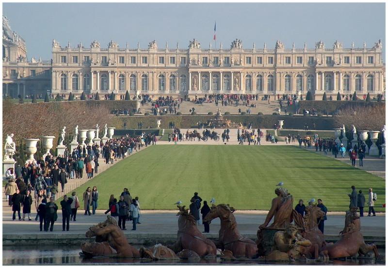 Le Château de Versailles, Guide touristique de Paris, France