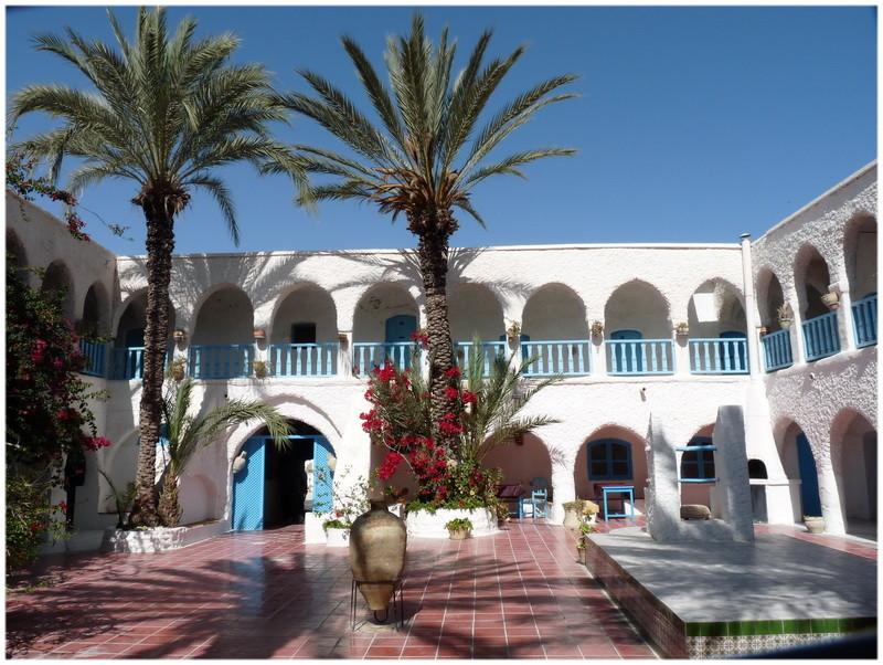Fondouk traditionnel de Houmt Souk Djerba Tunisie