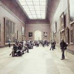 Hall du Louvre,Paris,France