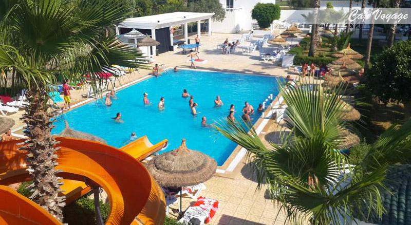 Hotel Daphne Miramar Club, Sousse, Tunisie, vue piscine