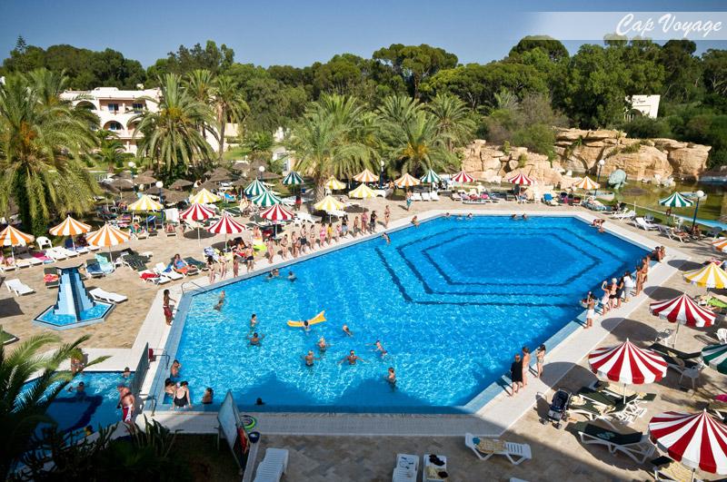 Hotel Dessole Riviera Resort, Sousse, Tunisie, vue piscine