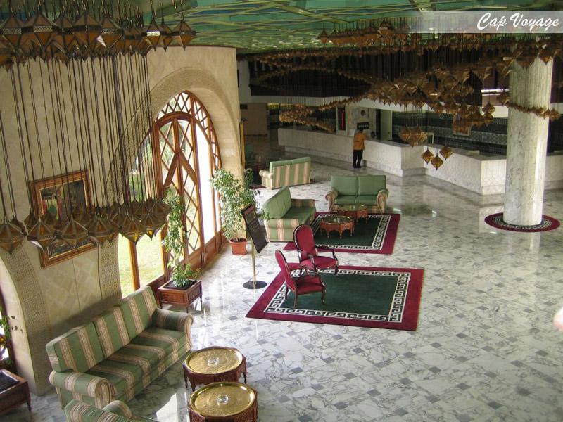 Hotel El Hana Hannibal Sousse Tunisie, vue réception