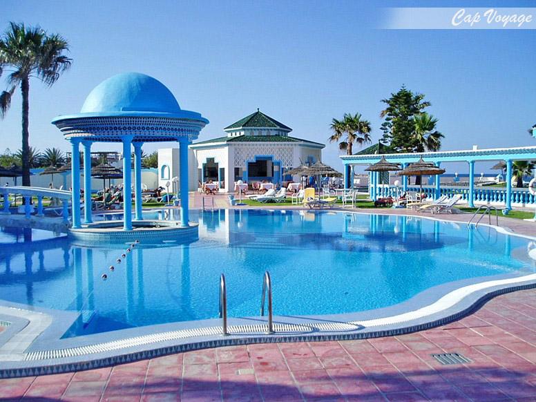 Hotel El Hana Palace Sousse Tunisie, vue piscine