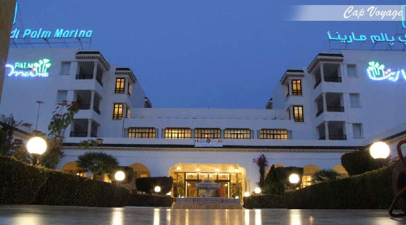 Hotel El Mouradi Palm Marina, Sousse, Tunisie vue de face de l'hôtel