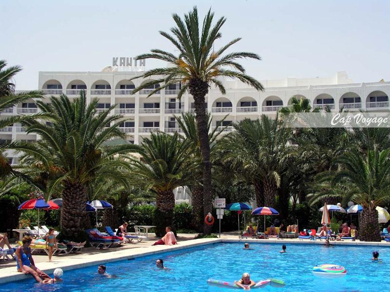 Hotel Kanta Sousse Tunisie, vue piscine