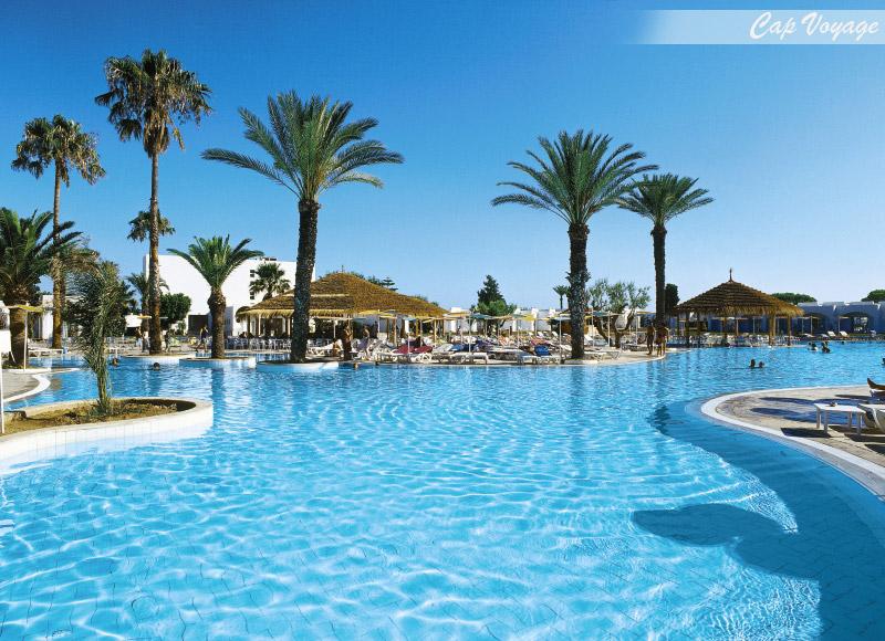 Hotel LTI Thalassa Sousse Tunisie, vue piscine