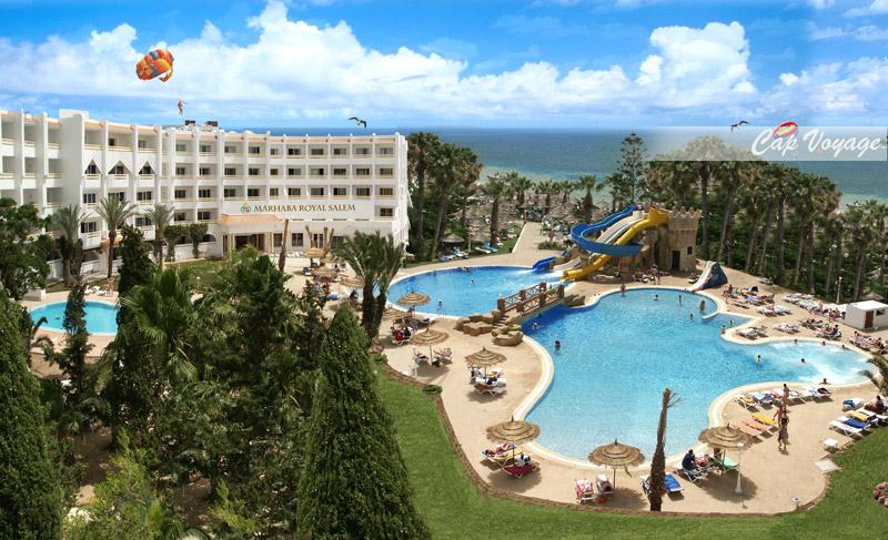 Hotel Marhaba Beach, Sousse, Tunisie, vue piscine