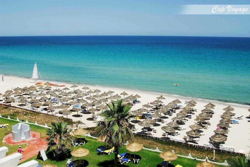 Hotel Novostar Palmyra, Sousse, Tunisie, vue plage