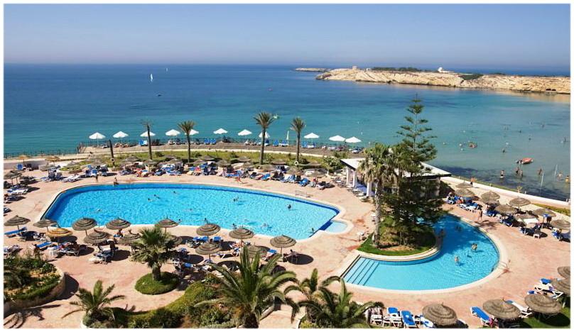 Vue mer de l'hotel Regency Monastir, Voyage en Tunisie