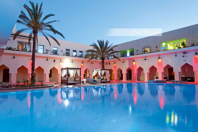 Hotel Scheherazade, Sousse, Tunisie vue piscine