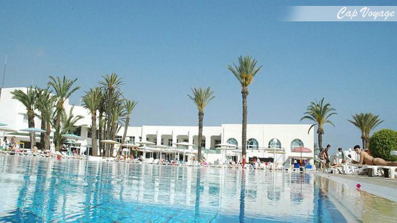 Hotel Soviva Resort, Sousse, Tunisie vue piscine