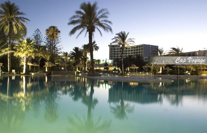 Hotel Tour Khalef Marhaba, Sousse, Tunisie, vue piscine