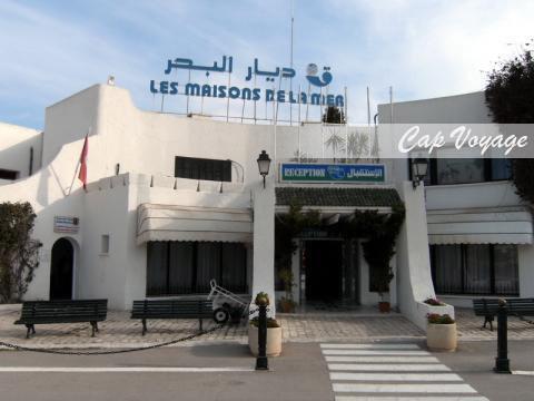 Hotel maisons de la mer Sousse Tunisie vue d'entrée