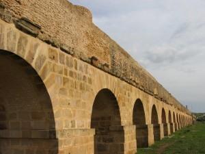 L'Aqueduc de Zaghouan, Tunisie