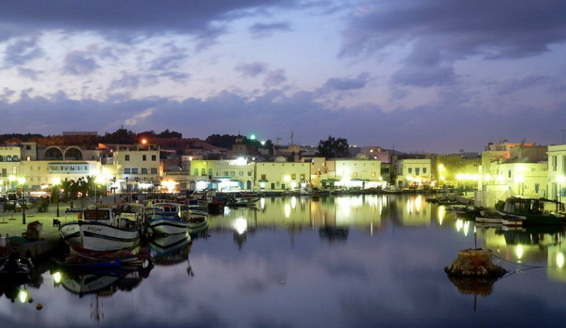 Le port de pêche de Bizerte Tunisie