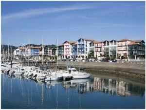 port de plaisance d'Hendaye,pays basque,pyrenees,Aquitaine,Franc