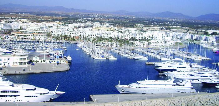 Le port de plaisance Marina Yasmine Hammamet Tunisie