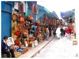 Voyage aux Souks de la Medina de Monastir en Tunisie