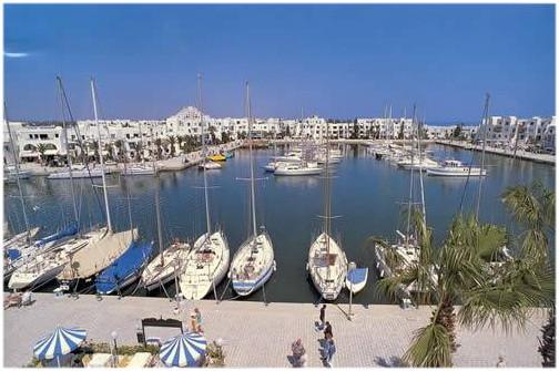 Le Port El Kantaoui Hammam Sousse vacances en Tunisie