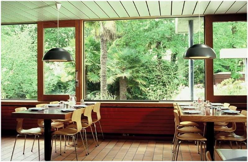 Restaurant de l'auberge de jeunesse Ethic Etapes de Brest France