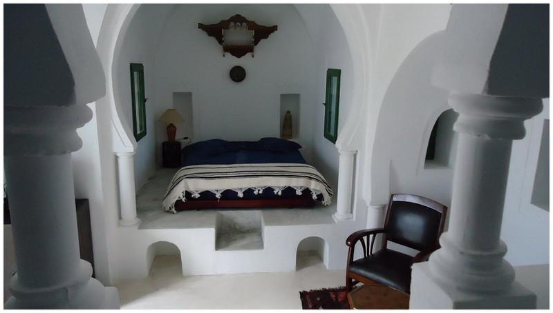 Sedda d'un Menzel, architecture traditionnelle de Djerba Tunisie