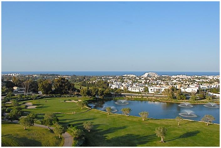 Terrain de Golf El Kantaoui à Sousse, vacances enTunisie
