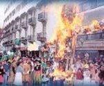 manifestation religieuse à henday
