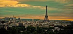 Paris, vue generale