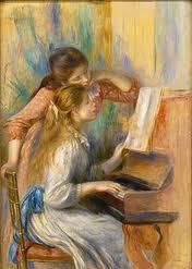 jeune fille au piano,