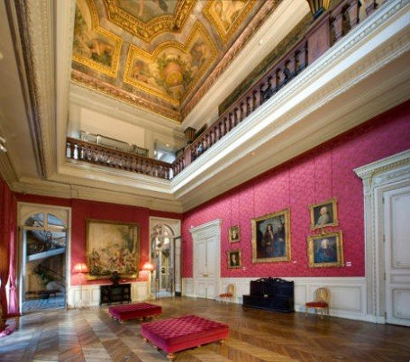 salon de musique,musée Jacquemart,France