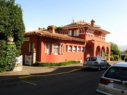 villa-Maison rouge, hendaye