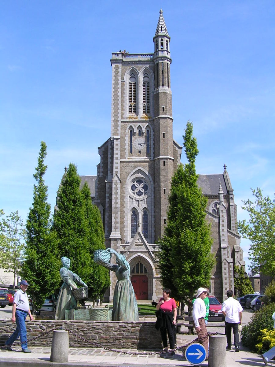 Cancale,Bretagne,France,Eglise
