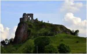 Chateau d'Apchon,Auvergne,France