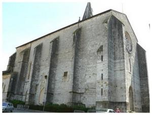 Eglise Saint-Pierre,Orthez,Aquitaine,France