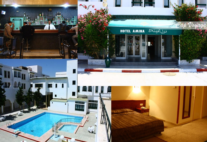 Hotel Amina Kairouan Tunisie, vue générale