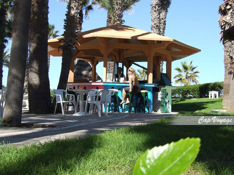 Hotel Chems El Hana Sousse Tunisie, vue jardin