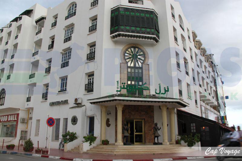 Hotel Cleopatre Sousse Tunisie, vue de face
