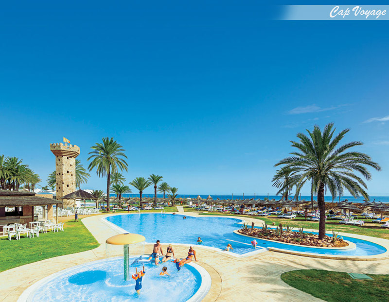 Hotel Club Calimera Rosa Rivage Monastir Tunisie, vue piscine