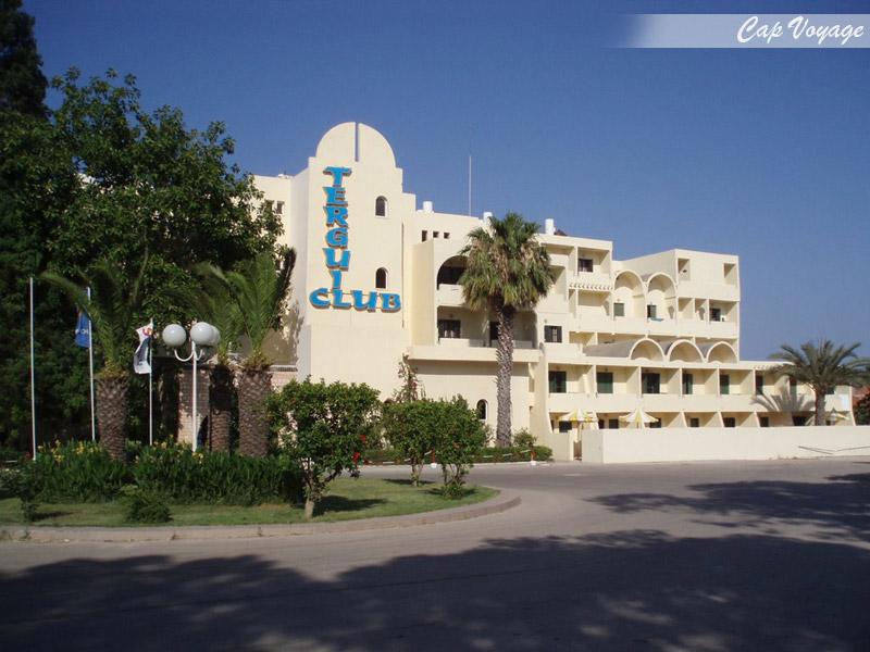 Hotel Club Tergui Sousse Tunisie, vue de face
