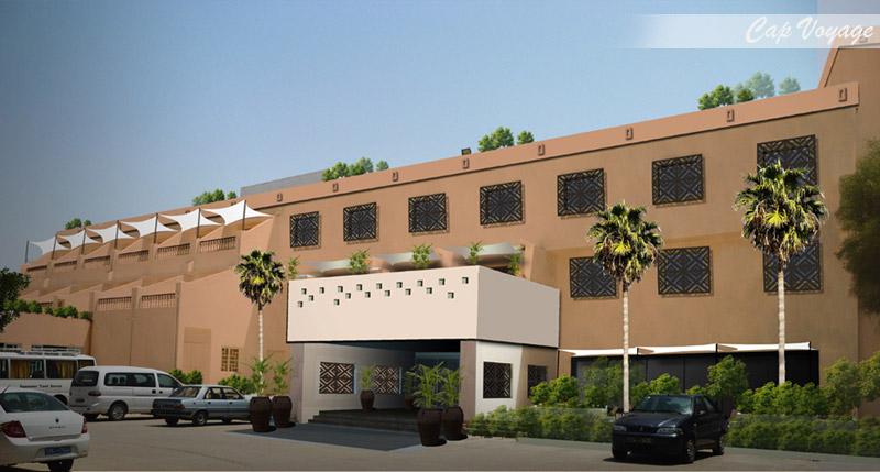 Hotel Contiental Kairouan Tunisie, vue de face