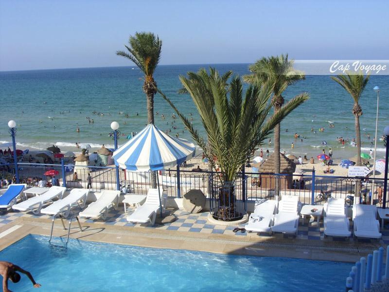 Hotel Dreams Beach, Sousse, Tunisie, vue mer et piscine