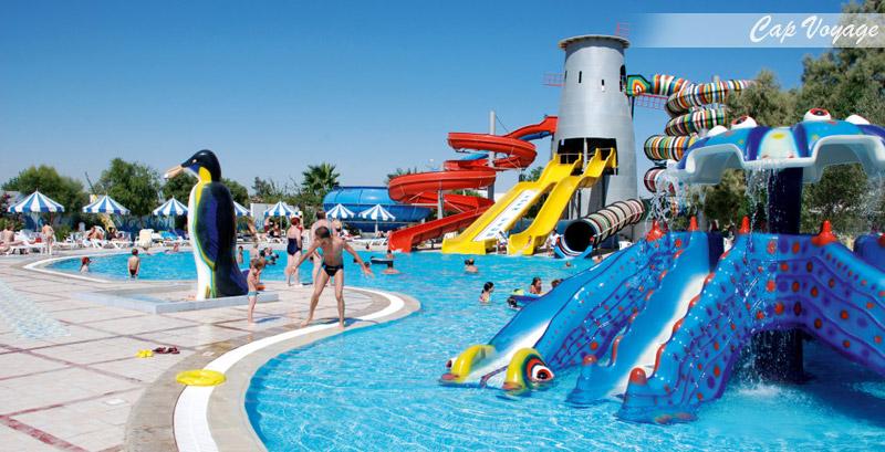 Hotel Eden Club Skanes Monastir Tunisie, vue piscine