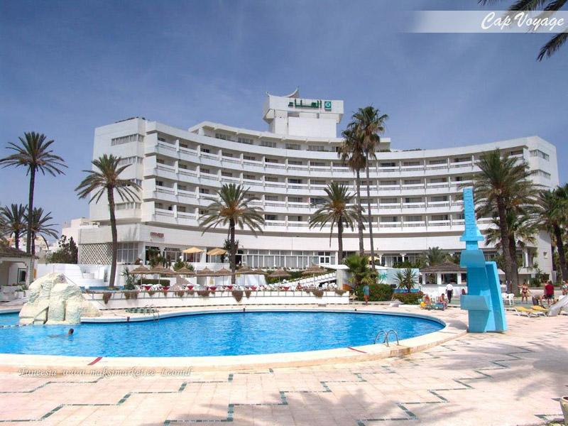 Hotel El Hana Beach Sousse Tunisie, vue piscine
