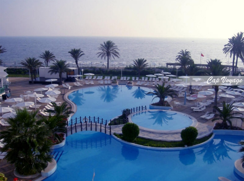 Hotel El Mouradi Skanes, Monastir, Tunisie, Vue piscine