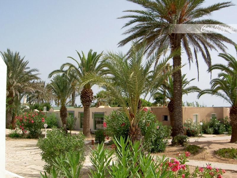 Hotel Hill Diar, Sousse Tunisie, vue jardin