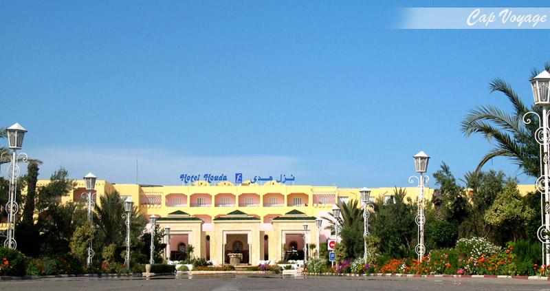 Hotel Houda Skanes Monastir Tunisie, vue d'entrée
