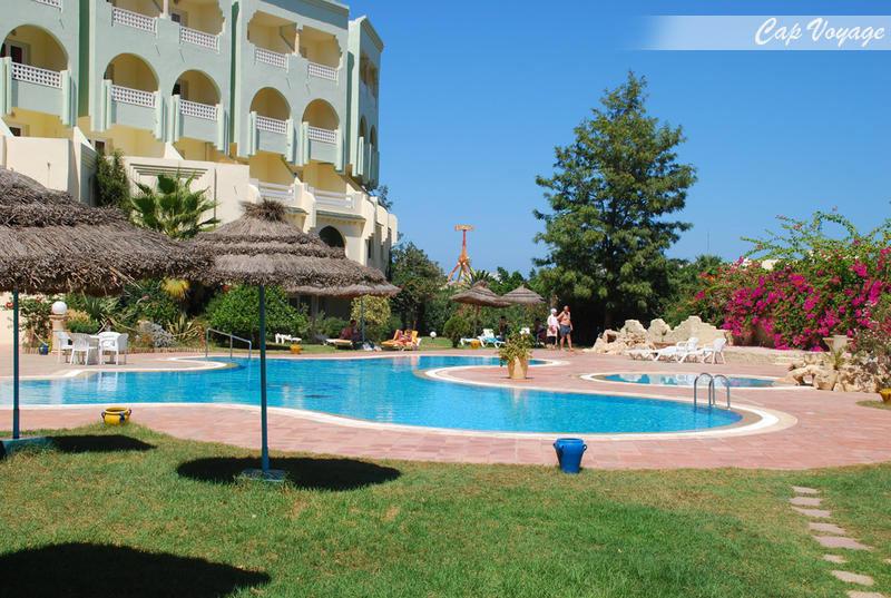 Hotel Houria Palace Sousse Tunisie, vue piscine